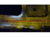Ahlat'ta 'Fener Alayı' yürüyüşü