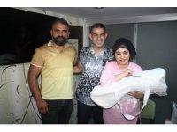 15 yıllık çocuk hasreti 'Hasret' bebek ile son buldu