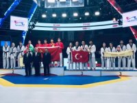 Türkiye Karışık Taekwondo Milli Takımı'ndan bronz madalya