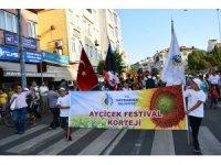 """Hayrabolu'da """"Ayçiçeği Festivali"""""""