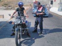 Elazığ'da 117 motosiklet denetlendi, 11'ine işlem yapıldı