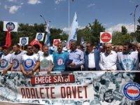 Elazığ'da Memur-Sen'den 'Emeğe Saygı Adalete Davet' çağrısı