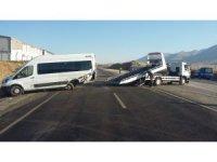 Kahramanmaraş'ta feci kaza: 1 ölü, 10 yaralı