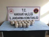 'Kıran Operasyonu'nda 19 kilo eroin ve patlayıcı kalıbı ele geçirildi