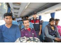 Tekirdağ'da 36 kaçak göçmen yakalandı