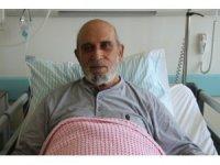 Kalp damarında tıkanıklık bulunan hasta Isparta Şehir Hastanesi'nde sağlığına kavuşturuldu