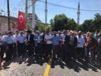 Gülşehir-Karacaşar yolu sıcak asfaltı hizmete açıldı