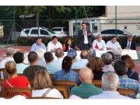 Başkan Sarıkurt, Kazımiye Mahallesi'nde vatandaşlarla buluştu