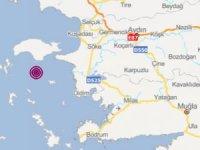 Ege Denizi'nde korkutan art arda depremler ! İzmir'de de hissedildi