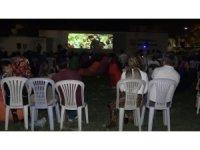 Açık havada Çanakkale konulu filme yoğun ilgi