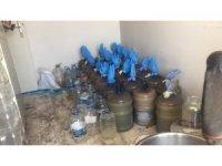 Bartın'da kaçak içki imalathanesinde patlama