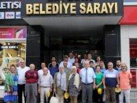 Trabzonlu gazetecilerden Başkan Pekmezci'ye ziyaret