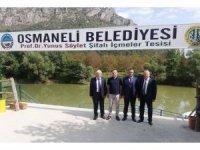 Başkan Ürek, Osmaneli'nde