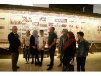 Gaziler çocuklara tarih ve değerler hakkında bilgi verdi