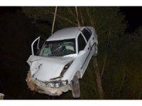 Sürücüsünün kalp krizi geçirdiği otomobil sulama kanalına girdi: 1 ölü, 3 yaralı