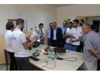 Rektör Demirdağ, Teknofest'e katılacak İHA takımlarını  ziyaret etti