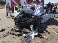 Kahramanmaraş'ta kamyon ile otomobil çarpıştı: 1 ölü