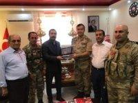 Tuğgeneral Özfindan'dan veda ziyaretleri
