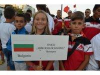 9 ülkeden 186 sporcu Tekirdağ'da