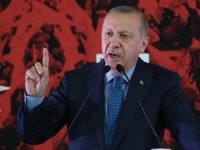Erdoğan'dan, Davutoğlu'nun ihraç yanıtına sert sözler: Fitne tüccarları var