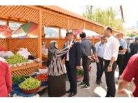 Türkeli'de Köylü Pazarı hizmete girdi