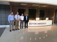 Vali Kaymak Büyük Anadolu Hastaneleri'ni ziyaret etti