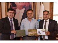 PTT Bilecik yöneticilerinden Başkan Şahin'e ziyaret