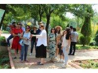 Mersin'i daha da güzelleştirmek için Gaziantep'e gittiler