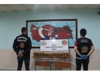 Gürbulak'ta 73 kilogram Afyon sakızı yakalandı