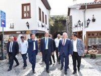 Bakan Gül, Ankara Kalesi'nde
