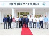 Prof. Dr. Çomaklı, Sakarya'da çeşitli ziyaretlerde bulundu