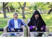 Turkiye Ermenileri Patriklik Kaymakamı Maşalyan Van'da