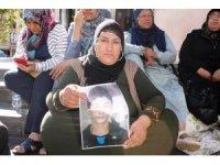 Çocukları dağa kaçırılan ailelerin HDP önündeki eylemi 6'ncı gününde