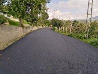 Ordu Büyükşehir Belediyesi sıcak asfalt çalışmalarını sürdürüyor