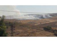 Diyarbakır'da anız yangını