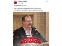 MHP Çamaş İlçe Başkanı vefat etti
