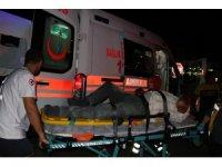 Manisa'da motosiklet ile otomobil çarpıştı: 1 ağır yaralı