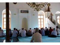 Antik kentteki camide yıllar sonra ilk cuma namazı