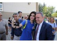 """Başkan Böcek: """"Gazipaşa'dan Kaş'a eğitime destek vereceğiz"""""""