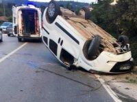 Fatsa'da trafik kazası: 1 yaralı