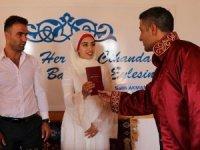 Evlenmek için 09.09.2019'u beklediler..  Nikah salonlarına koştular