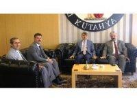 Emniyet Müdürü Çevik'ten Rektör Uysal'a ziyaret