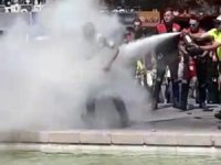 Ankara'nın göbeğinde kendisini yaktı