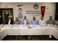 Başkan Güder, Battalgazi Belediyespor oyuncuları ile buluştu