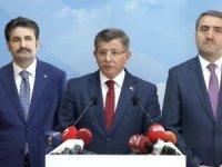 Ahmet Davutoğlu, AK Parti'den istifa etti!