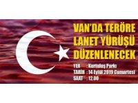 Van'da 'Teröre Lanet' yürüyüşü düzenlenecek