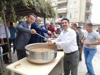 Hisarcık Belediyesinden aşure ikramı