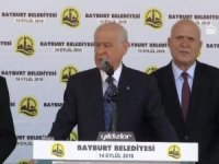Bahçeli'den CHP ve İmamoğlu'na sert sözler!