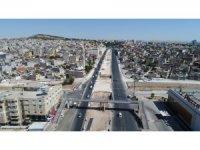 Karaköprülü Kavşağı'ndaki viyadüğün yapımına başladı
