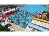 Tarsus Su Parkına 99 günde 18 bin 45 ziyaretçi